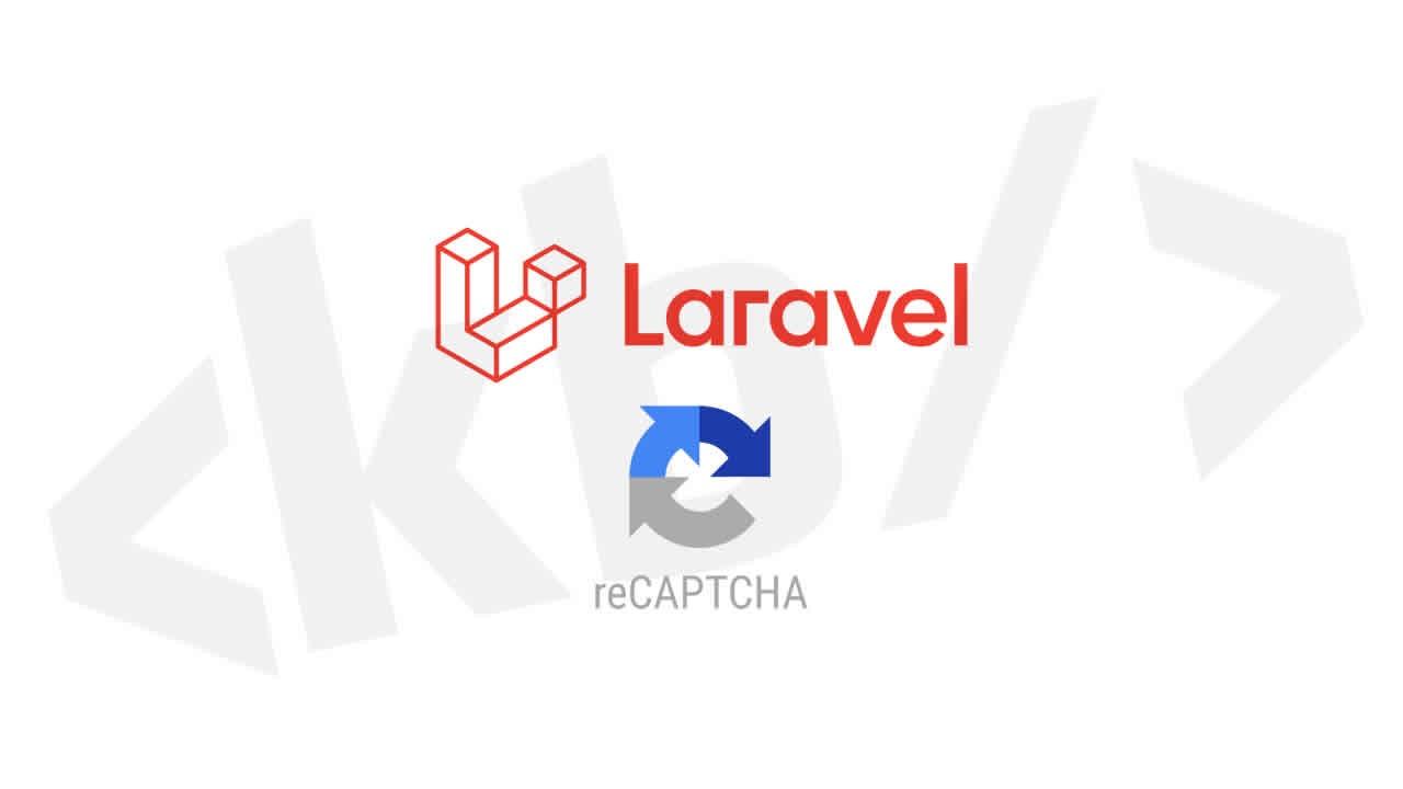 Laravel'de recaptcha v3  kullanımı
