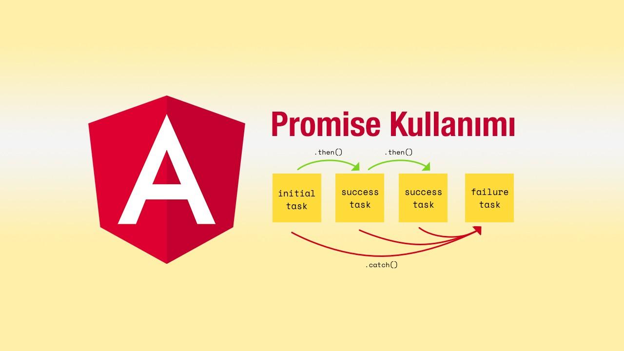 Angular'da işlemlerimizi bir sıraya göre yaptırma - Promise kullanımı