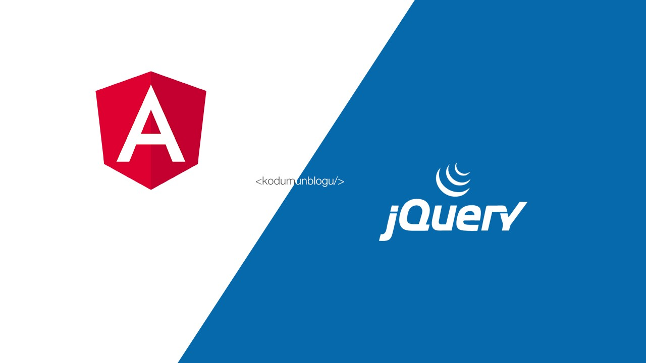 Angular uygulamasında jQuery nasıl kullanılır?