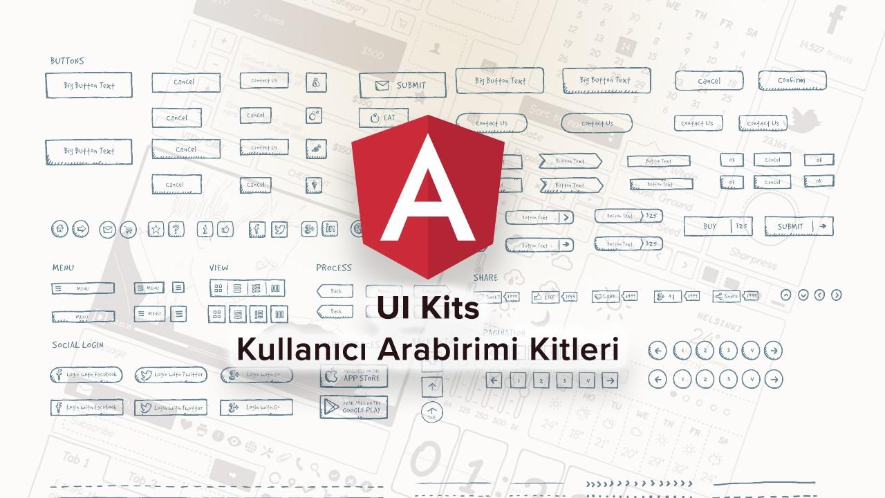 Angular projeleriniz için UI Kit - Kullanıcı Arabirimi Kitleri