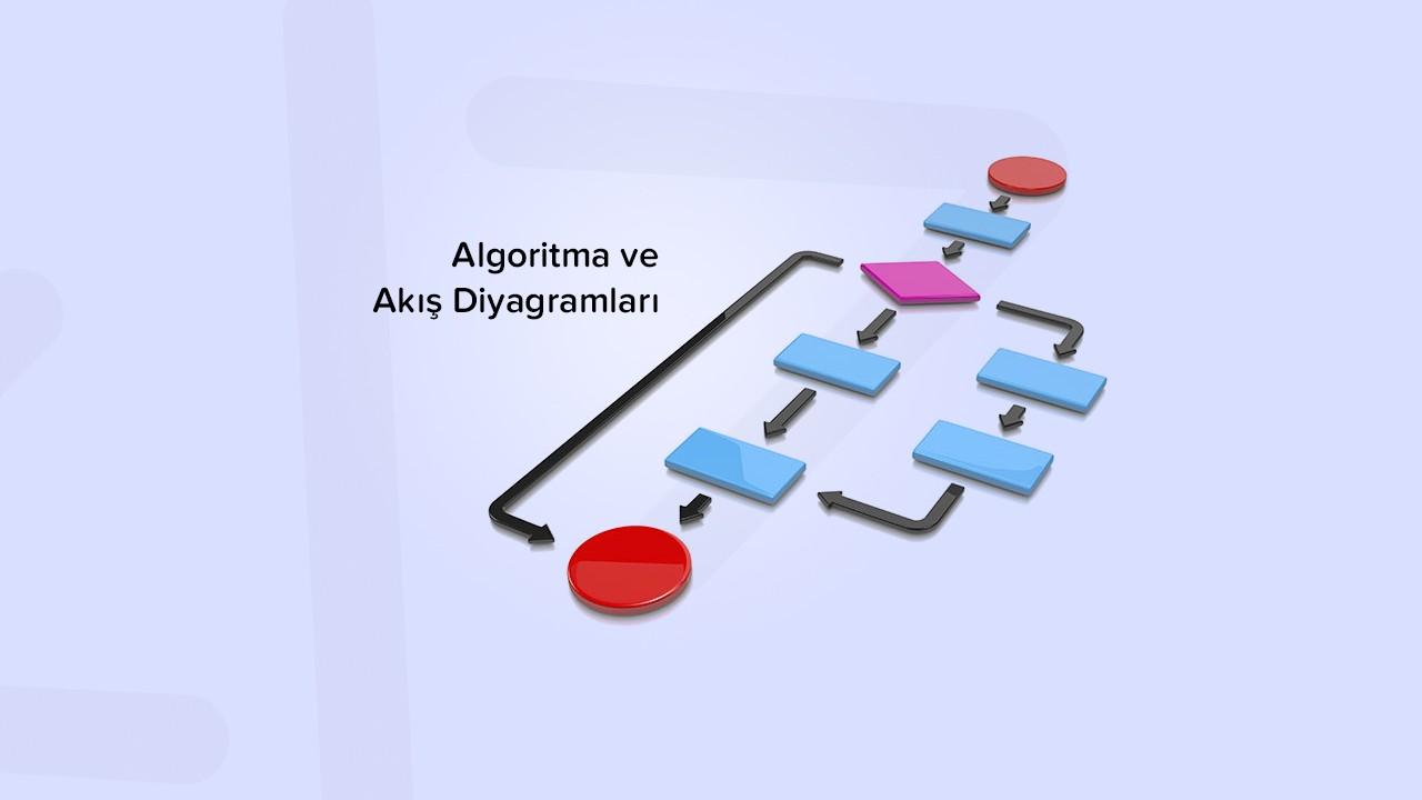 Algoritma ve akış diyagramları nedir? Örneklerle öğrenelim