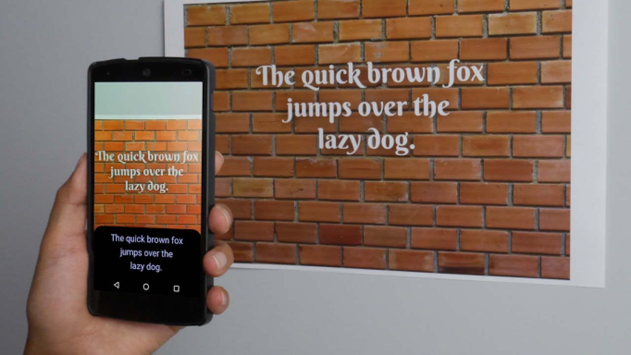 Android'de Vision API kullanımı ile resimden yazı okutma (Text Recognition) işlemi