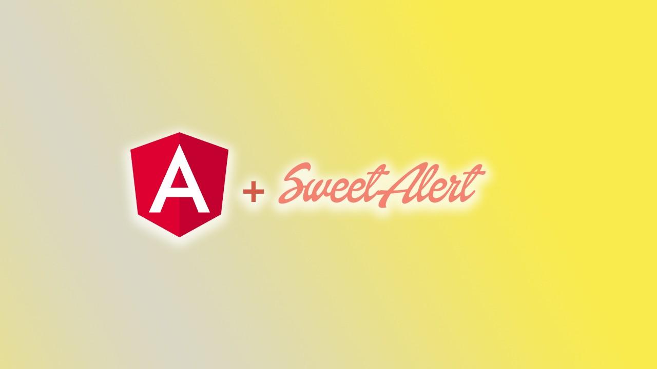 Angular ile Sweet Alert 2 kullanımı